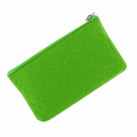 Felt Wallet to Customize - Green