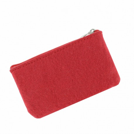 Felt Wallet to Customize - Red