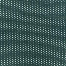 Tissu Oeko-Tex Poppy Graphics Stars - eucalyptus/blanc x 10cm
