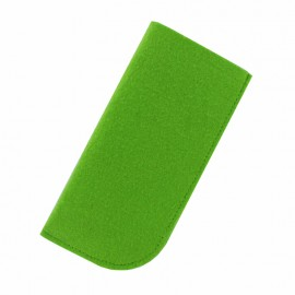 Felt Eyeglasses Case - Green