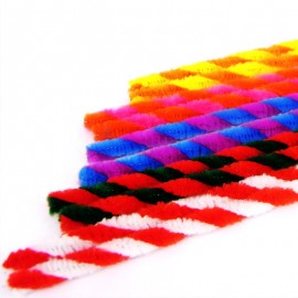 6 mm Twist Pipe Cleaner Pack (50 pcs)