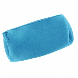 Felt Pencil Case to Customize - Turquoise
