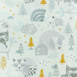 Tissu coton Blend fabrics Sweet dreams - écru  x 10cm