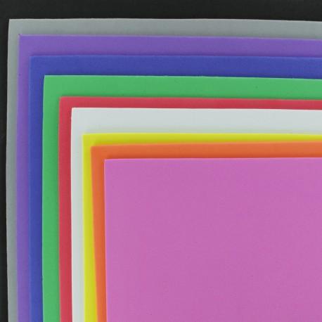 Lot Papier Mousse EVA - Multi