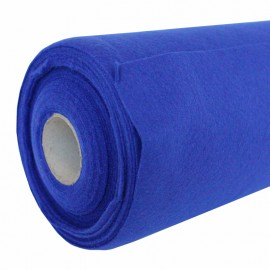 Felt Roll 10 meters - Electric Blue