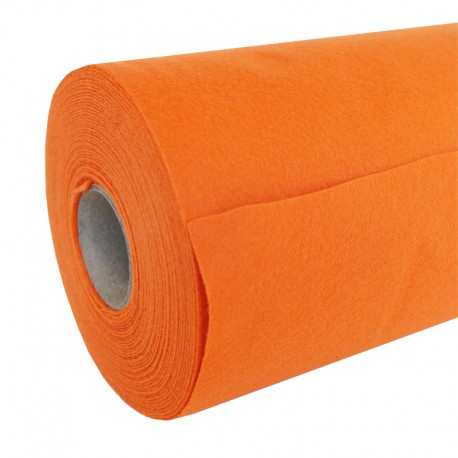 Rouleau de Feutrine 10 m - Orange
