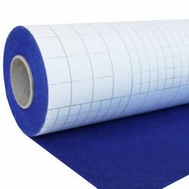Rouleau de Feutrine Adhésive 5 m - Bleu Électrique