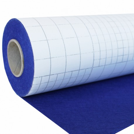 Adhesive Felt Roll 5 meters - Electric Blue