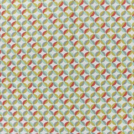 Cretonne cotton Fabric - White Zeleo x 10cm