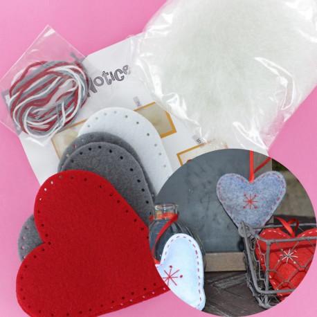 Kit 3 Poppy Hearts