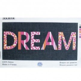 Canvas Pattern 40 x 20 cm - Black Dream