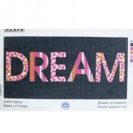 Toile Canevas 40 x 20 cm - Dream Noir