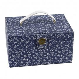 DMC Medium Size Sewing Box - Midnight Blueberry
