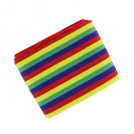 Berlingo Striped Ribbed Cuffs (110x7cm) - Birthday