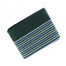 Leto Striped Ribbed Cuffs (110x7cm) - Wild