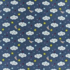 Tissu jersey Sorra - blue x 10cm