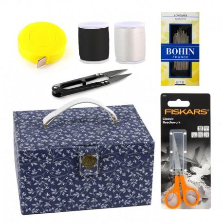 Kit Boîte Couture DMC & accessoires - Spécial Fêtes