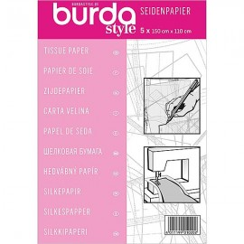 Multipurpose tissue paper Burda - white