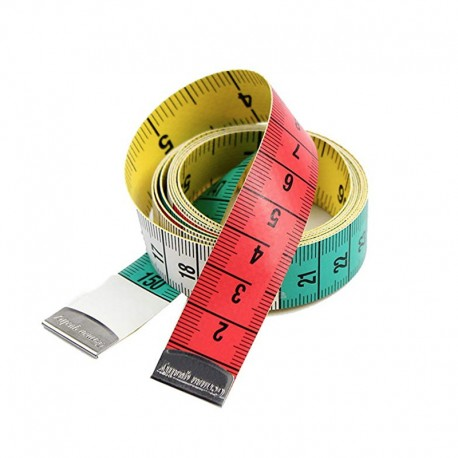 Dressmaker's measuring tape - multicolored