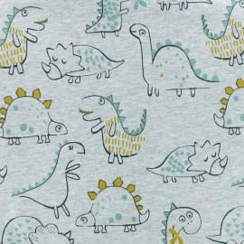 Tissu sweat léger Diplo gris x 10cm