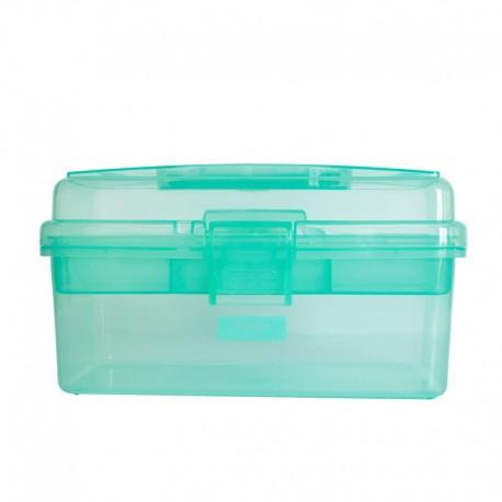 Bohin Sewing Storage Box - Lagoon Green