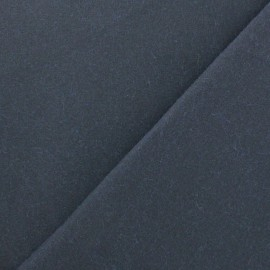 Waxed Cotton Fabric - Navy blue x 10cm