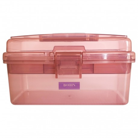 Bohin Sewing Storage Box - Ancient Pink
