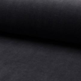 Tissu jersey velours éponge - gris foncé x10cm