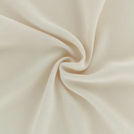 Tissu crêpe léger - nude x 10cm