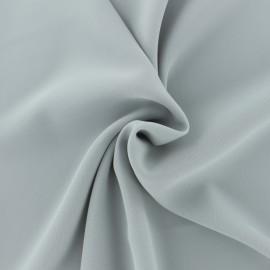 Tissu crêpe fluide Adela - gris perle x 50cm