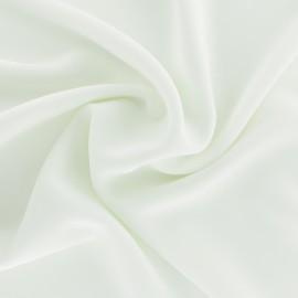 Tissu crêpe fluide Adela - blanc x 50cm