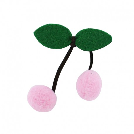 Sew On Cherry - Pink