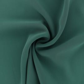 Tissu crêpe fluide Adela - vert x 50cm