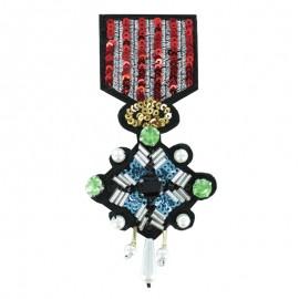 Médaille de Perles à Coudre - L'Honorable