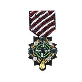 Médaille de Perles à Coudre - La Sublime