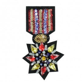 Sew-on Beads Medal - The Triumphal