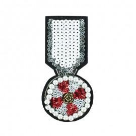 ♥ Médaille de Perles à Coudre - La Légendaire ♥