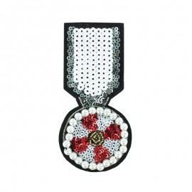 ♥ Sew-on Beads Medal - The Legend ♥