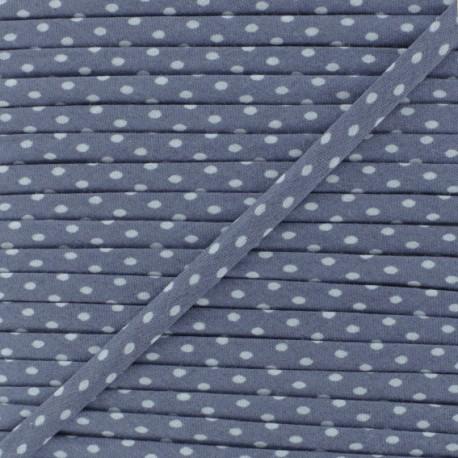 7 mm Frou-Frou Dot Cord - Ashen Slate A