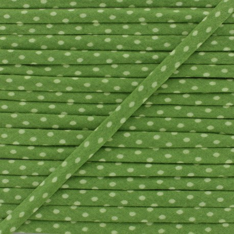 7 mm Frou-Frou Dot Cord - Olive Garden A