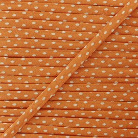 7 mm Frou-Frou Dot Cord - Mandarine A