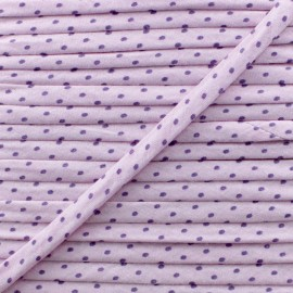 7 mm Frou-Frou Dot Cord - Lavender B