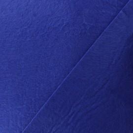 Tissu Feutrine - bleu indigo x 10cm