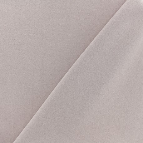 Crepe jersey fabric - misty pink x 10cm