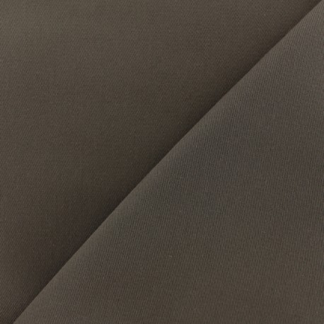 Twill Cotton Fabric - brown x 10cm