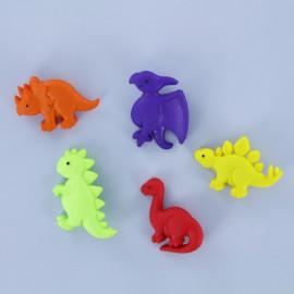 Lot de Boutons Enfant - Dinosaures