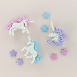 Child Buttons Set - Unicorn