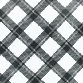 Tissu enduit spécial ciré Harry - blanc x 10cm
