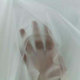 Tissu spécial ciré transparent - Mat x 10cm
