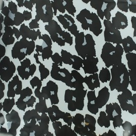 Transparent Special rain waterproof fabric - leopard x 10cm